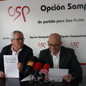 OSP muestra los documentos que prueban la contratación legal de Corchado y sospecha que la falsa acusación proviene del Grupo Popular