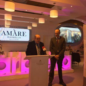 El grupo El Fuerte presenta en FITUR la nueva y exclusiva marca Amàre que lanzará en Marbella