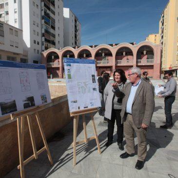 El Ayuntamiento inicia los trabajos para solventar los problemas de impermeabilización de la Plaza Vista Alegre