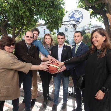 El Ayuntamiento respalda el evento #Marbella_encesta que convertirá el Casco Antiguo en una gran cancha de baloncesto
