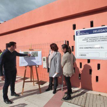 El Ayuntamiento inicia el acondicionamiento del primer Centro de Participación Ciudadana de Las Chapas en calle Andasol