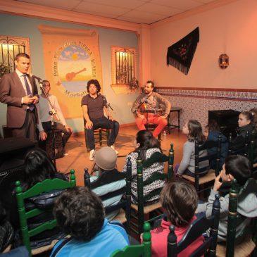 Trescientos escolares pasarán por las jornadas de flamenco de la Peña Sierra Blanca dentro del Programa Marbella Educa