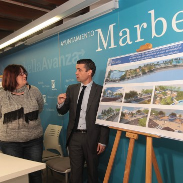 El Ayuntamiento de Marbella inicia los trabajos para crear un espacio urbano abierto y moderno en el entorno de la avenida del Mercado