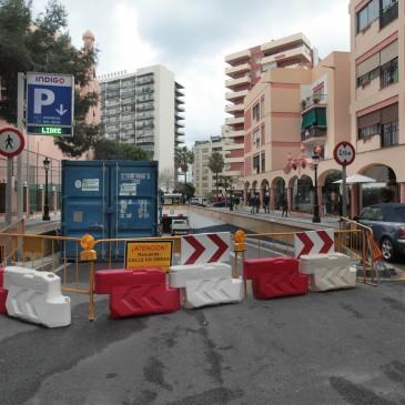 El Ayuntamiento de Marbella realiza obras de reparación en el túnel de El Fuerte para garantizar la estabilidad de su estructura