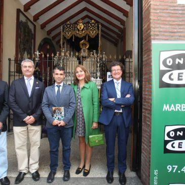 El alcalde acompaña a Onda Cero en la presentación de su guía de Semana Santa