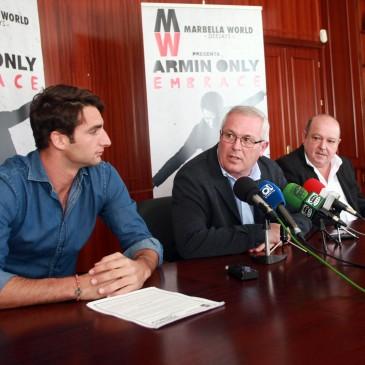 El reconocido Dj Armin van Buuren actuará el 30 de julio en el estadio de fútbol de San Pedro Alcántara