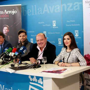 Presentados los conciertos que ofrecerán Raphael, Pasión Vega, Paco Arrojo y Mari Carmen Molina en los próximos meses en Marbella