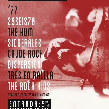 El festival San Pedro Rock se celebrará el 2 de abril con la participación de siete bandas locales y el grupo barcelonés '77
