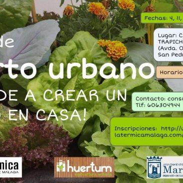 El Ayuntamiento y La Térmica proponen un Curso de Huerto Urbano