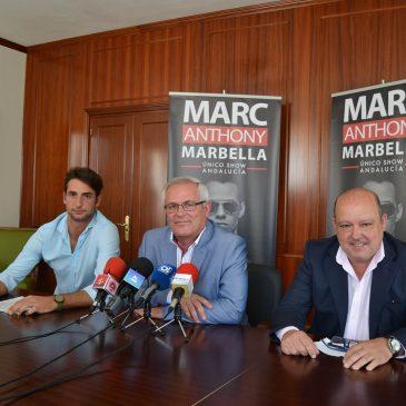 Marc Anthony ofrecerá su único concierto en Andalucía el próximo 9 de julio en el Estadio de Fútbol de San Pedro