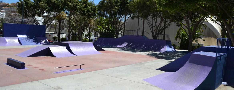El Ayuntamiento acondiciona las pistas de skate de Arroyo de la Represa