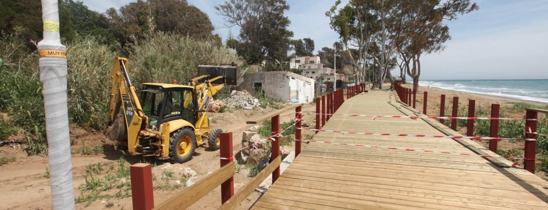 El Ayuntamiento impulsa el Paseo Marítimo hacia el este de Marbella con avances en dos nuevos tramos