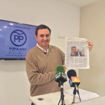 El PP exige explicaciones al alcalde tras conocerse que el asesor municipal Jaime Olcina tiene sociedades en Panamá