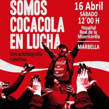 El Hospital Real de la Misericordia acogerá el sábado día 16 la presentación y charla-coloquio del libro 'Somos CocaCola en Lucha'