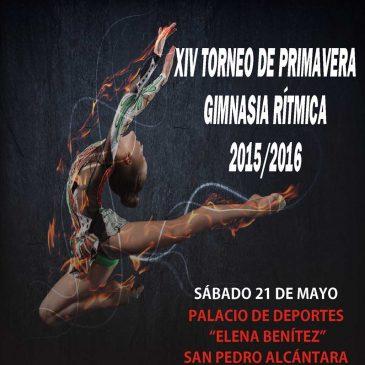XIV Torneo de Primavera de Gimnasia Rítmica de las Escuelas Deportivas Municipales
