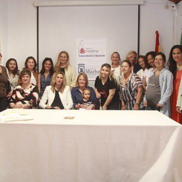 Entregados los diplomas a las participantes del proyecto Diamante de la Fundación Madrina