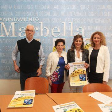 El Palacio de Congresos Adolfo Suárez acogerá este domingo día 15 de mayo el evento #Nosomosinvisibles a beneficio de la Asociación de Fibromialgia de Marbella