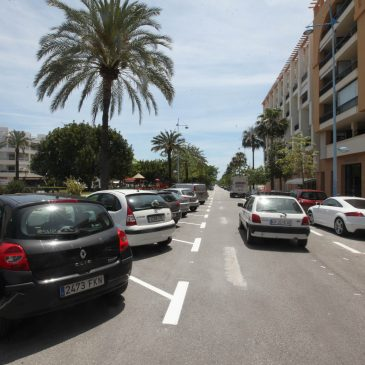 Nuevas actuaciones en el entorno del Bulevar de San Pedro Alcántara para elevar la seguridad vial