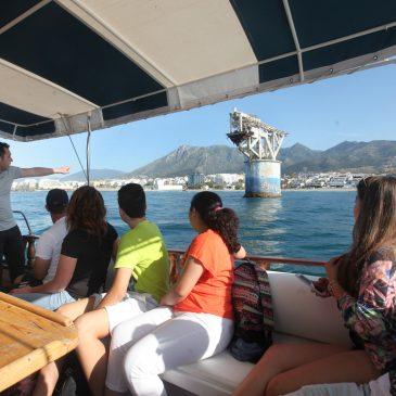 Escolares del municipio conocen de cerca el litoral y la Torre de El Cable dentro del Programa de Educación Ambiental