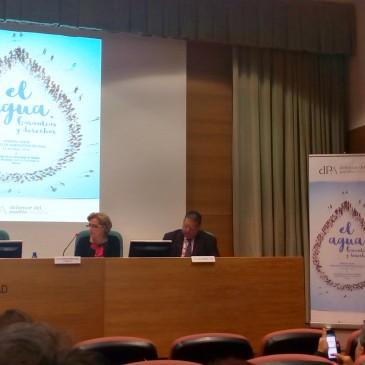La concejala de Derechos Sociales asiste a la I Jornada sobre los servicios de suministro del agua organizada por el Defensor del Pueblo Andaluz