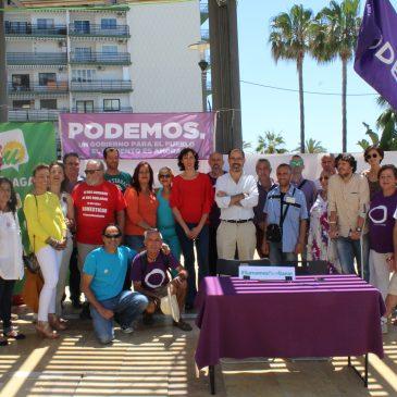 UNIDOS PODEMOS PRESENTA EN MARBELLA SU CANDIDATURA PROVINCIAL AL 26J