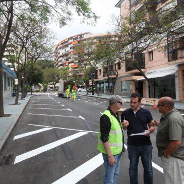 El Ayuntamiento realiza la ordenación del tráfico, creará 175 aparcamientos libres en la zona de Molino de Viento y materializará un carril bici en Camilo José Cela