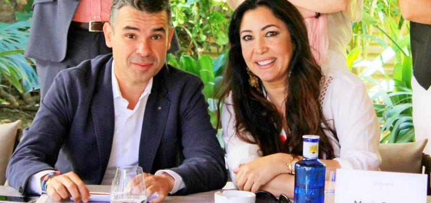 La fundadora de la plataforma Global Gift, Maria Bravo, presenta los detalles de la V Edición del Fin de Semana Filantrópico Global Gift, Marbella.