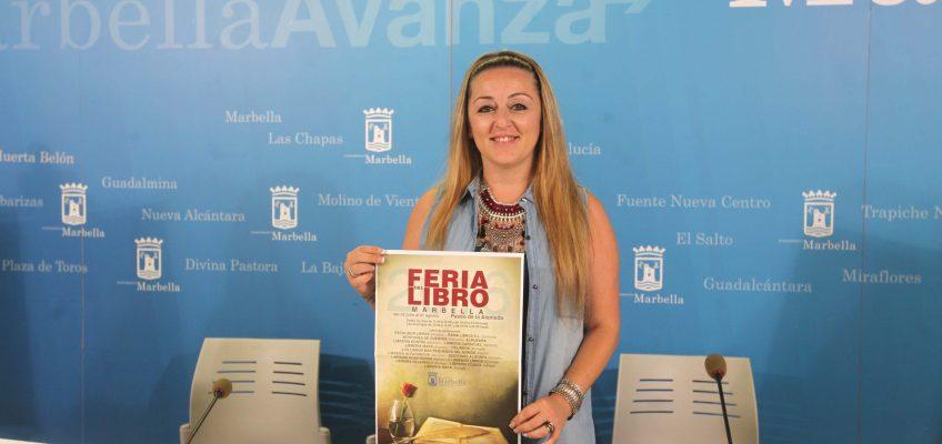 La Feria del Libro de Marbella contará con cerca de 40 actividades programadas entre el 22 de julio y el 21 de agosto