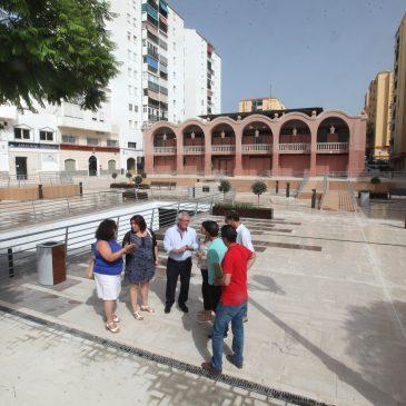El Ayuntamiento responde a una demanda vecinal solucionando los problemas de impermeabilización de la Plaza Vista Alegre de San Pedro