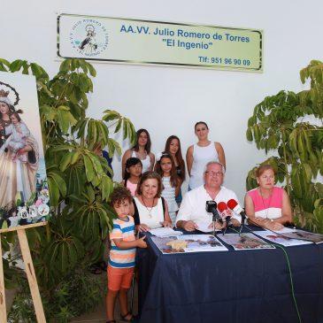 La 37ª Feria Virgen del Carmen del Ingenio celebrará la misa en honor a la patrona de los marineros en el entorno de la basílica paleocristiana