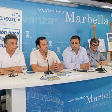 La Guía de Playas ofrecerá información a los usuarios sobre los servicios y equipamientos del litoral de Marbella
