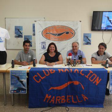 La Travesía a Nado de Puerto Banús a Marbella aspira a convertirse en prueba nacional