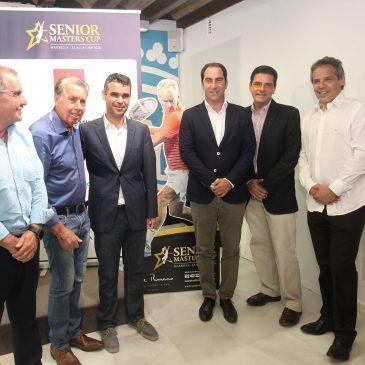 Marbella recibe del 22 al 24 de septiembre a las mayores leyendas del tenis de todos los tiempos en la Senior Masters Cup