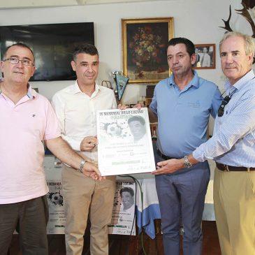 El Pabellón Antonio Serrano Lima acogerá el día 3 de septiembre el IV Memorial de Fútbol Sala 'Diego Lozano' a beneficio de la Asociación Contra el Cáncer