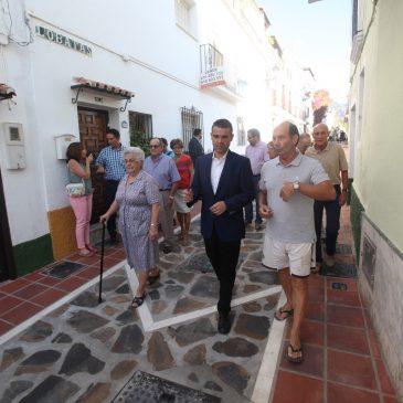 El Ayuntamiento culmina la renovación de infraestructuras y pavimentos en la calle Lobatas y aledaños dentro de las mejoras efectuadas en el Casco Antiguo de Marbella