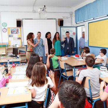 El Ayuntamiento destaca la inversión de 44.000 euros de la Junta de Andalucía en nuevas mejoras en el colegio Gil Muñiz