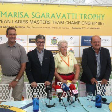 Marbella acoge la XXVI edición del 'Trofeo Marisa Sgaravatti' y el III 'Masters Senior' de golf femenino con más de 160 jugadoras de 16 países