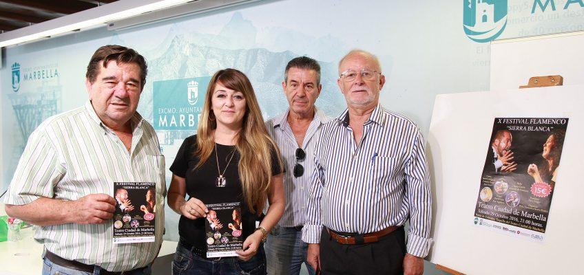 El Teatro Ciudad de Marbella acogerá el sábado día 29 de octubre el X Festival Flamenco 'Sierra Blanca'