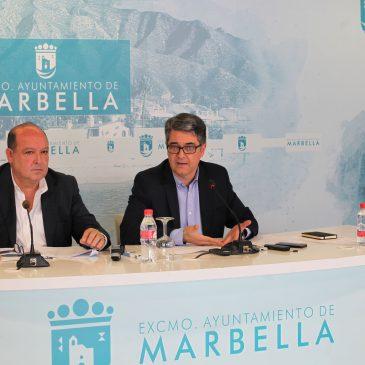 El Ayuntamiento afianza la imagen de marca de Marbella a nivel internacional en la World Travel Market con una quincena de reuniones diarias con representantes de los sectores del golf, hotelero y lujo