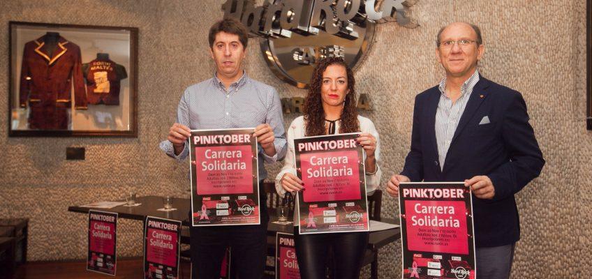 Puerto Banús volverá a aunar deporte y solidaridad el día 20 de noviembre con la celebración de la sexta edición de la carrera Pinktober