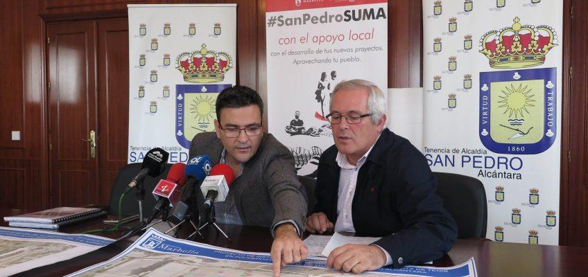 La Tenencia de Alcaldía de San Pedro Alcántara mejorará la iluminación de las cuatro pistas de tenis del Pabellón Deportivo Elena Benítez
