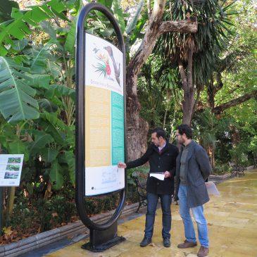El Ayuntamiento impulsa la red de rutas por la biodiversidad urbana con la instalación de 38 paneles informativos con sistema de audioguía en español e inglés