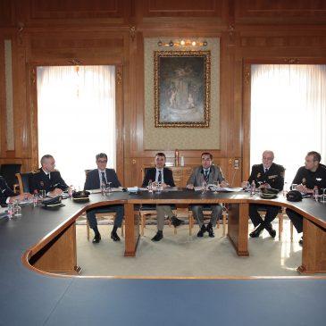 El Ayuntamiento y la Subdelegación del Gobierno acuerdan la instalación de cámaras de videovigilancia en diferentes puntos de la ciudad para incrementar aún más la seguridad
