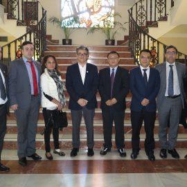 El concejal de Proyectos Estratégicos se reúne con un grupo empresarial chino con interés inversor en Marbella