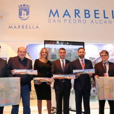 Marbella y Ojén presentan en FITUR una guía con cinco rutas por la naturaleza en una apuesta conjunta por el turismo ecológico