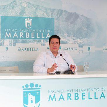 """El concejal de Fiestas destaca en el balance anual de su delegación el """"éxito"""" de la vuelta de la Feria de Día de Marbella al centro y la recuperación de celebraciones tradicionales"""