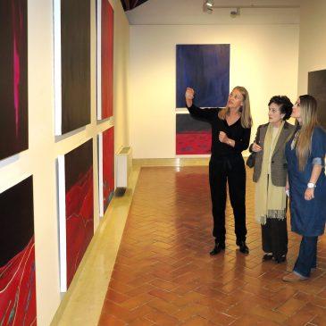 El Centro Cultural Cortijo Miraflores acoge la primera exposición en España de 'Kuu: poéticas de la luna' de Cecilia Noriega-Bozovich
