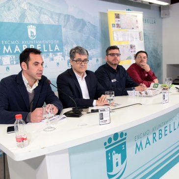 El Ayuntamiento y Taxisol colaboran en la elaboración de 25.000 planos de Marbella y San Pedro Alcántara que se distribuirán entre los usuarios de los 300 taxis de la asociación