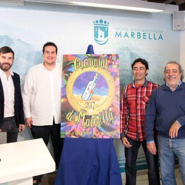 El Carnaval de Marbella contará este año con el artista local Juan Delola como pregonero