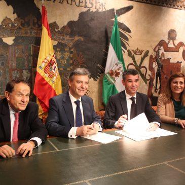 El Ayuntamiento de Marbella y Endesa firman un acuerdo de colaboración para evitar cortes de suministro eléctrico a los ciudadanos por motivos económicos